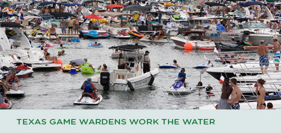 Texas Game Wardens Work the Water Memorial Day Weekend