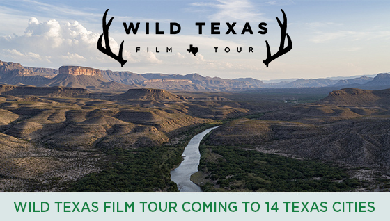 Story #5: Wild Texas Film Tour Coming to 14 Texas Cities
