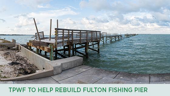 Story #4: TPWF to help rebuild Fulton Fishing Pier