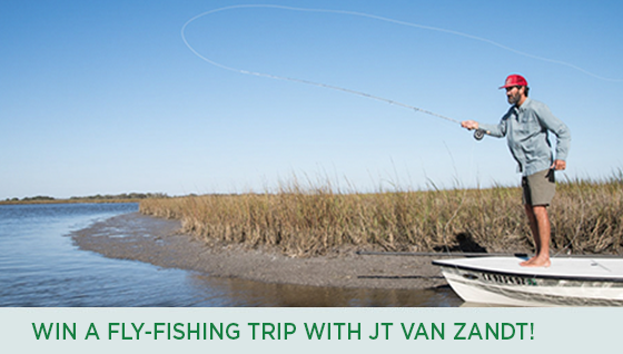 Story #2: Win a Fly-Fishing Trip with JT Van Zandt