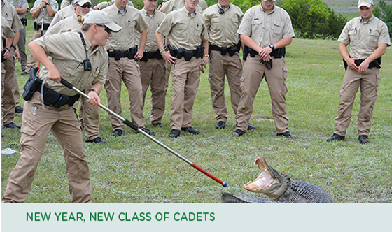 New Year, New Class of Cadets