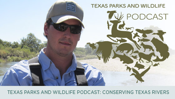 Listen in on the Very First Texas Parks and Wildlife Podcast!