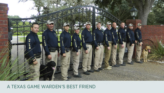 A Texas Game Warden's best friend