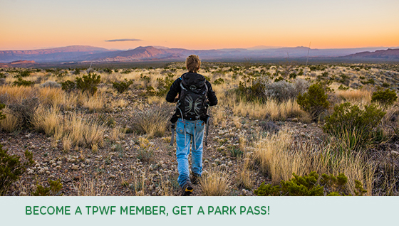 Become a TPWF Member, Get a Park Pass!