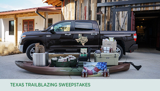 Story #3: Texas Trailblazing Sweepstakes